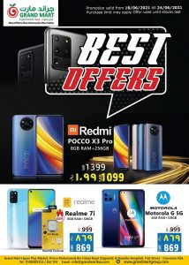 Grand Mart Saudi Best offers Leaflet Cover Page