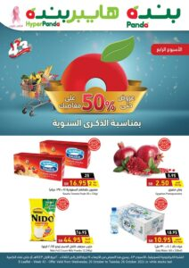 HyperPanda 43rd Anniversary 50 % Discount promotion Leaflet Cover Page